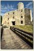 Babice - wejście do zamku