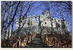 Babice - historyczne schody na zamek