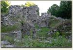 Bąkowa Góra - wnętrze ruin