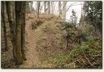 Barwałd Górny - wejście do zamku