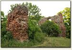 Borysławice Zamkowe - mury