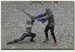 Bytów - walka rycerska