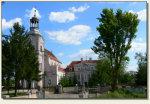 Chocz - kościół i budynek zamkowy