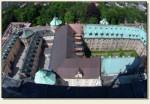 Częstochowa - dziedziniec klasztoru