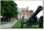 Golub-Dobrzyń - działo i zamek