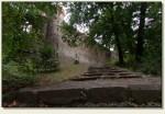 Kamieniec Ząbkowicki - wejście do zamku