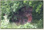 Kłaczyna - mury