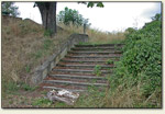 Kostrzyn - schody, być może zamkowe