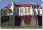 Kraków - widok od wschodu z ulicy