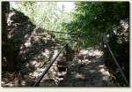 Krościenko nad Dunajcem  - wejście do ruin