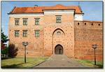 Łęczyca - wejście do zamku