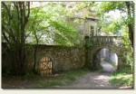 Łupki (Wleński Gródek) - mury po drodze do zamku