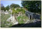 Łupki (Wleński Gródek) - mury