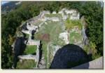 Łupki (Wleński Gródek) - ruiny, widok z wieży