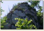 Łutowiec - relikty murów