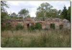 Modła - mury zamku