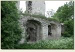 Mokrsko Górne - mury