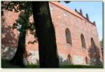 Nidzica - zamek z zewnątrz