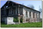 Nowy Korczyn - zrujnowana synagoga z XVIII w.