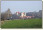 Nowy Wiśnicz - zamek z oddali
