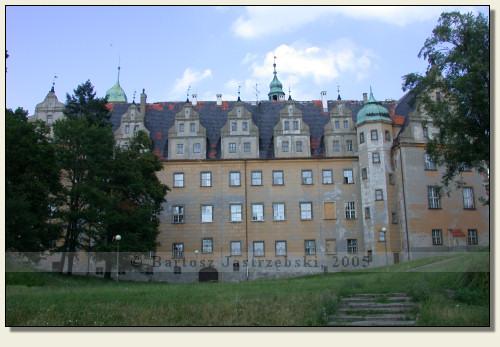 Oleśnica - castle, complete