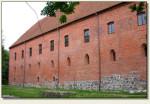 Ostróda - zamek od zewnątrz