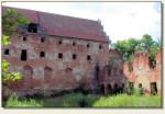 Pieniężno - ruina zamku