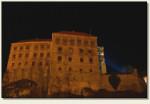 Pieskowa Skała - zamek nocą