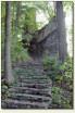 Proszówka - schody do zamku