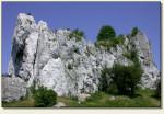 Przewodziszowice - skała z murami