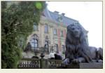 Pszczyna - lew i pałac