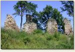 Rożnów (Zamek Górny) - mury