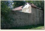 Rożnów (Zamek Dolny) - mur obronny