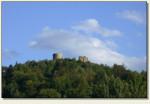 Rytro - ruiny zamku, widok z drogi