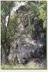 Rząsiny - skała z murami