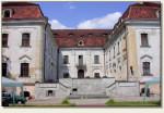Sośnicowice - dziedziniec pałacowy