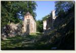 Świecie (woj. dolnośląskie) - wejście do zamku