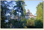 Szaflary - budynek stojący w miejscu zamku