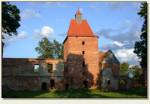 Szymbark (woj. warmińsko-mazurskie) - wieża bramna