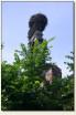 Ujazd (woj. opolskie) - bocianie gniazdo na murze