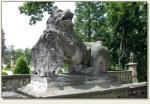 Wałbrzych - lew strażnik