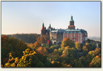 Wałbrzych - zamek o zmierzchu