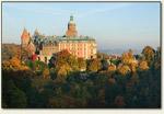 Wałbrzych - zamek o świcie
