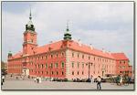 Warszawa - zamek od frontu