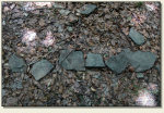 Wolibórz (Góra Garncarz) - kamienie zamkowe
