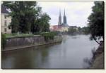 Wrocław (Ostrów Tumski) - widok na Ostrów Tumski
