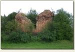 Żarki Wielkie - mury wieży